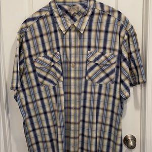 Duluth Trading men's short sleeve 3XL shirt